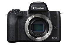 Canon EOS M50 Cuerpo MILC 24.1MP CMOS 6000 x 4000Pixeles Negro - Cámara digital (24,1 MP, 6000 x 4000 Pixeles, CMOS, 4K Ultra HD, Pantalla táctil, Negro)