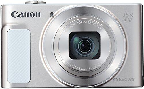 Canon SX620 HS PowerShot Fotocamera Digitale Compatta, Nero