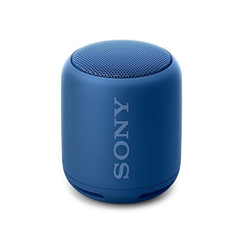 Sony SRS-XB10L- Altavoz inalámbrico portátil con Bluetooth y Extra Bass, Azul