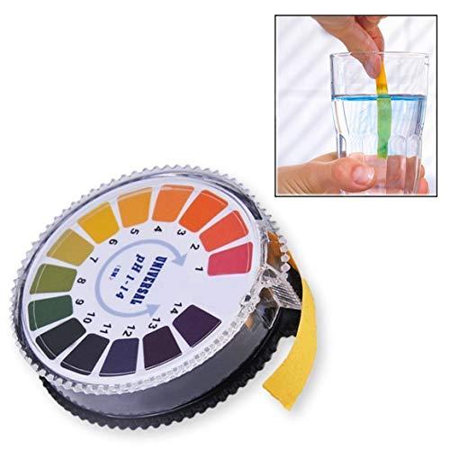 Itian Rotolo Tornasole di pH indicatore di Carta Striscia pH 0 - 14