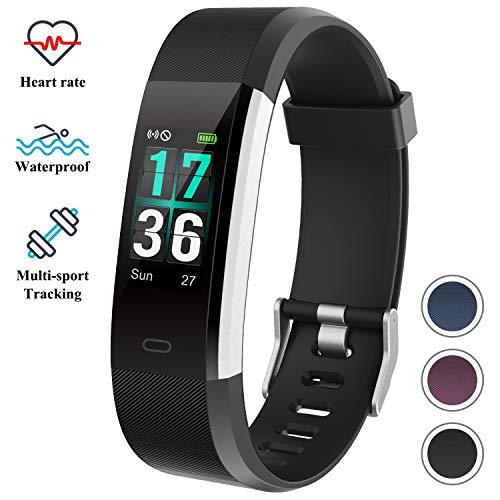 ITSHINY Orologio Fitness Tracker con monitoraggio della frequenza cardiaca, Schermo Digitale...