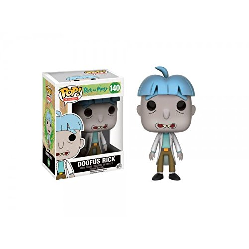 Funko - Figurine Rick et Morty - Doofus Rick Exclu Pop 10cm - 0889698108621