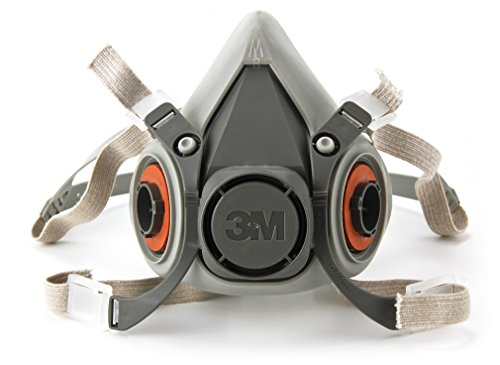 3M 3M-6200 Half Facepiece Reusable Respirator, Without Cartridges(Medium) 5