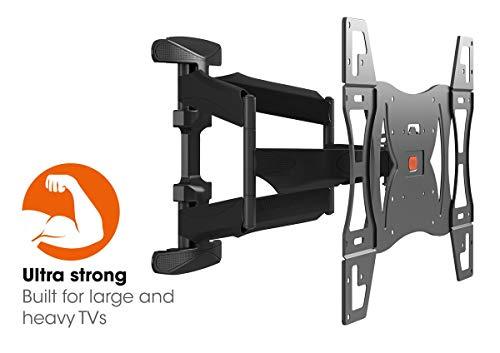Vogel's BASE 45 L, Ultra forte supporto da Parete per TV molto grande (102-165 cm, 40-65 Pollici) e...