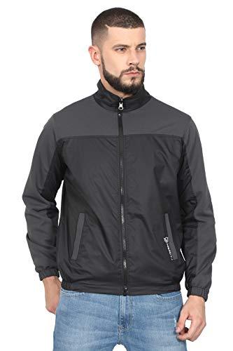 VERSATYL Men's and Women's Polyester Jacket (Grey, XL)