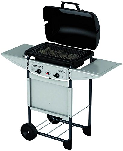Campingaz Expert Plus Barbecue Gas con Pietre Laviche, Grill Barbecue Compatto a Gas con 2...