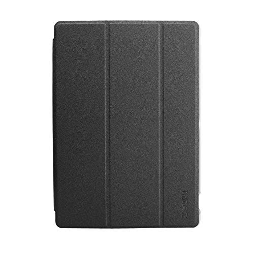 Daesar Funda iPad Cuero Funda de iPad Protectora Carcasa iPad Negro Fundas para iPad Compatible para 10.1 Inch Teclast P10 Octa Core Tablet PC
