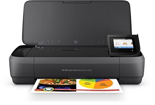HP OfficeJet 250 CZ992A Stampante All-in-One Portatile, Funzione Stampa/Copia/Scansione fino a 600...