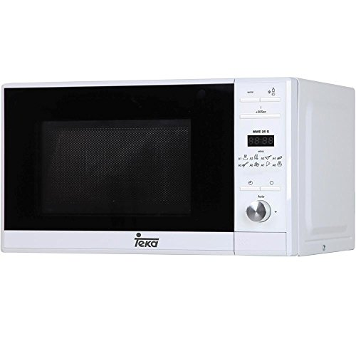 Teka MWE 225 G – Microondas con grill, 1050 W, color blanco