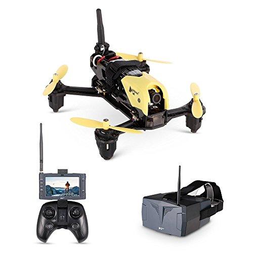 Hubsan H122D X4 Storm PRO Racer Droni Quadricotteri 720 Fotocamera 5.8Ghz FPV Monitor Goggle Occhiali da Casco 360 Filps (H122D PRO)