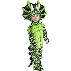lancoszp Disfraz de Triceratops de Halloween para Ninos Disfraz de Dinosaurio de Carnaval, 100cm