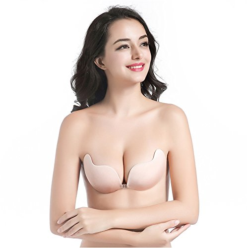 2f6eb858d3 Women s Silicone Strapless Backless bras Push-up Bra