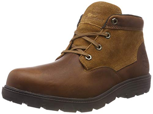 Timberland Walden Park, Stivali Classici Uomo, Beige (Wheat Forty with Suede 214), 43 EU