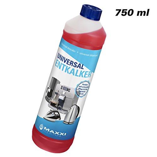 Maxxi Clean, Anticalcare e detergente multiuso per la pulizia di macchine da caffè, ferri da stiro...