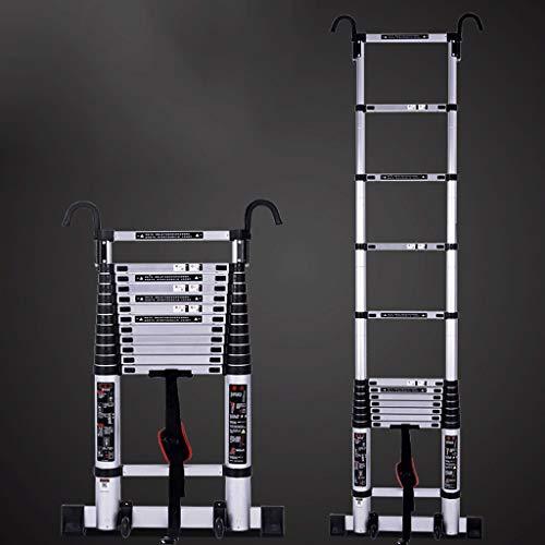 Échelle/Échelle Pliante En Aluminium Multi-fonctions/Échelle Pliante D'ingénierie Télescopique 2~6 M (Couleur : 5.9m)