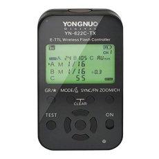 Yongnuo YN622TX Canon - Disparador flash inalámbrico (TTl, LCD, 100 m), color negro