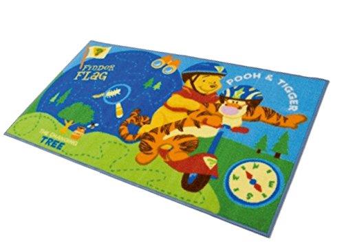M.Service S.r.l. Tappeto Disney Action Line Winnie The Pooh e Tigro - Misura 80x140cm - Ideale per...