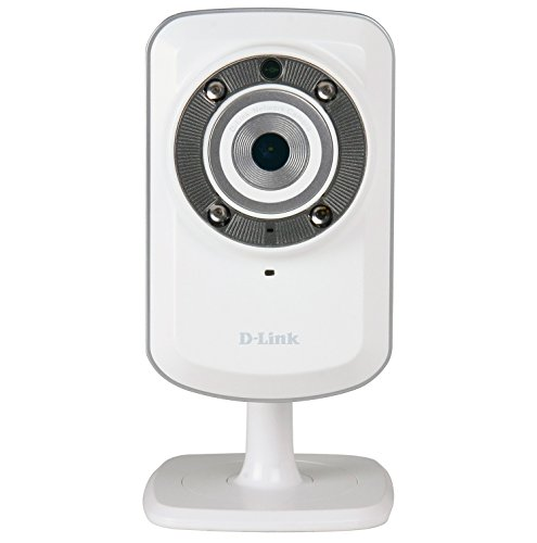 D-Link DCS-932L Wireless N IR Home Network Camera (White)