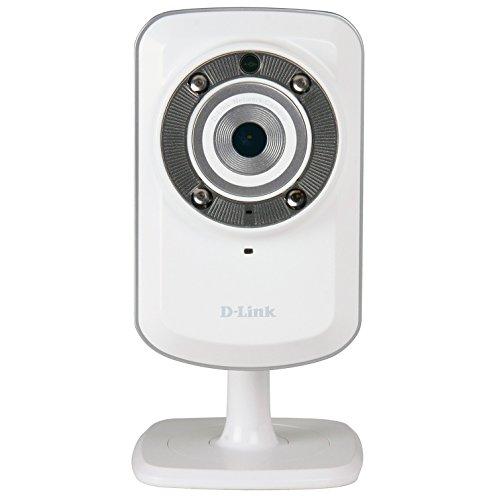 D-Link DCS-932L Videocamera di Sorveglianza Wireless N, Visore Notturno, Rilevatore di Movimenti e...
