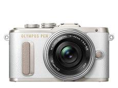 """Olympus Pen E-PL8 - Cámara Evil de 16 MP (Pantalla táctil abatible de 3"""", estabilizador, vídeo FullHD, WiFi), Color Blanco - Kit con Cuerpo y Objetivo M.Zuiko Digital 14 ‑ 42 mm EZ Pancake"""