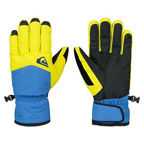 Quiksilver Cross Glove M-Guantes, Colore: Giallo, Bambino, Amarillo (Sulphur Spring), XL