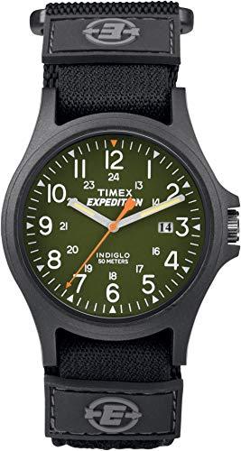 Timex Expedition Camper FSC, colore: nero con quadrante Fast TW4B00100 Cinghia