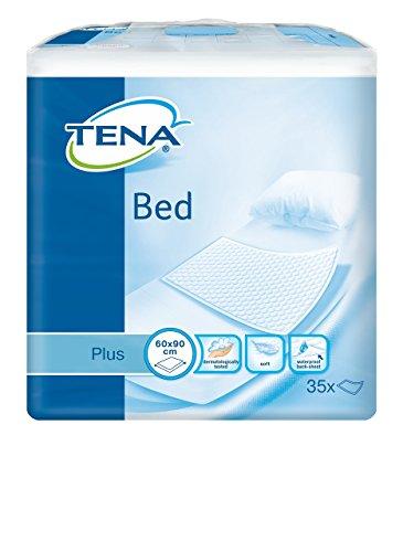 Tena - Traversina-coprimaterasso 'Bed - Plus', dimensioni di 60x 90cm, confezione di 35pezzi