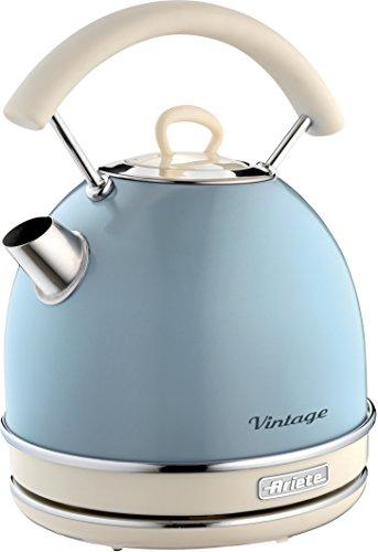 Ariete 2877 Bollitore elettrico Vintage, 2000 watt, 1,7 litri, in acciaio inox verniciato in colore...