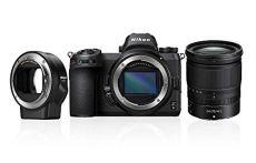 """Nikon Z6 - Cámara sin Espejos de 24.5 MP (Pantalla LCD de 3.2"""", Sensor CMOS, resolución 4K/UHD, WiFi, Bluetooth) Negro - Kit Cuerpo con Objetivo Zoom NIKKOR Z 24–70mm f/4 S y Adaptador de Montura FTZ"""