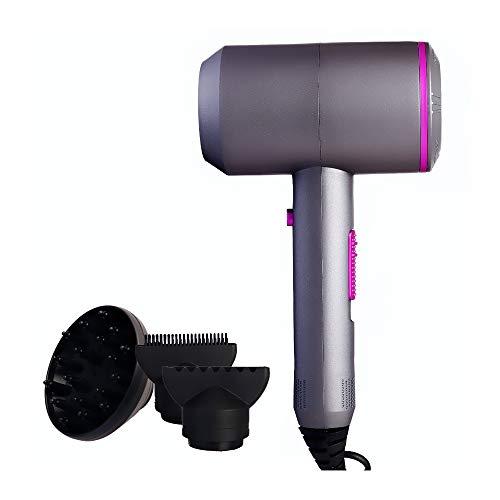 JayMonster Asciugacapelli Professionale con Diffusore Ionico Asciugacapelli Veloce Asciugacapelli,...