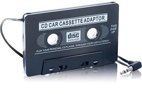 aux di cassette Adapter | Facile tua autoradio con cassette convertire ingresso jack da 3.5mm |...