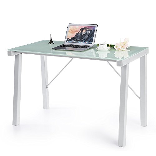 IKAYAA Schreibtisch Computertisch Bürotisch für Haus und Büro YS1403009