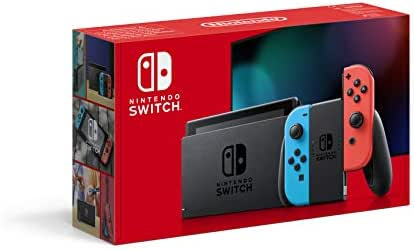 Nintendo Switch Konsole - Neon-Rot/Neon-Blau (neue Edition)