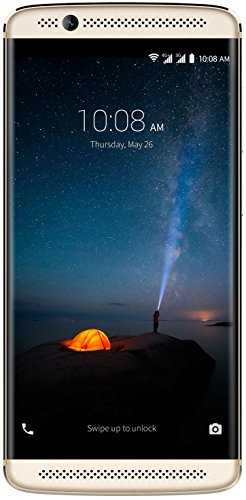 "ZTE Axon 7 Mini - Smartphone Libre de 5,2"" (4G, Qualcomm MSM8952, 3 GB RAM, Almacenamiento Interno de 32 GB, Bluetooth, WiFi, Android 6.0), Color Dorado"