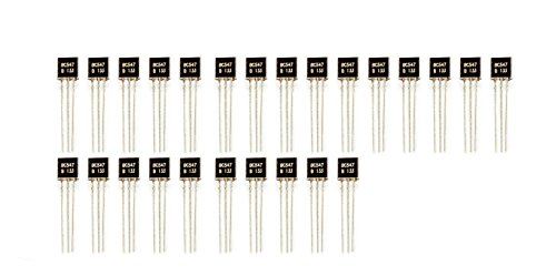 25Stück BC547 TO-92 NPN 45V 0.1A Transistor für Arduino Raspberry Pi Prototyping