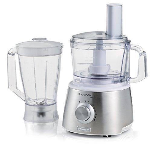 Ariete 1779 Robomix Metal - Robot da cucina multifunzione, Capacità tazza 2,1L, Set accessori per...