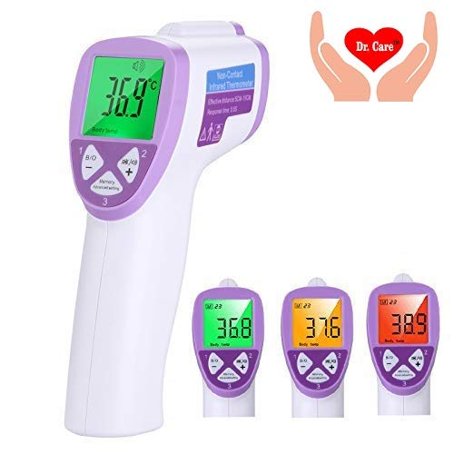 Dr. Right Medical Infrared Forehead Thermometer Gun For Fever Used For Baby, Child & Adult