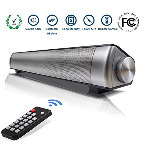 SoundBar Altoparlanti Bluetooth con Subwoofer con Telecomando