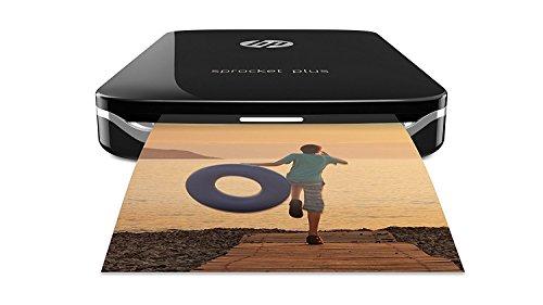 HP Sprocket Plus 2FR86A Stampante Fotografica Istantanea Portatile, Bluetooth 4.0, Misura 5.8 x 8.6...