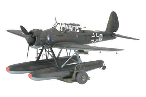 Tamiya 37006 Arado 196A - Maqueta (escala 1:48), diseño de hidroavión