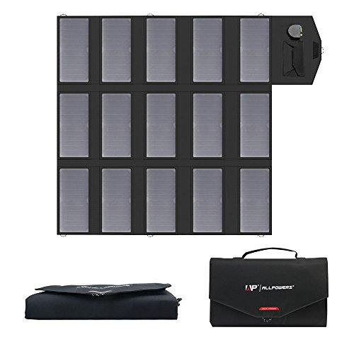 ALLPOWERS Cargador Solar Portátil del Panel 100W 18V 12V Plegable USB Y Un Cargador De Batería Solar del Puerto De DC para Los Teléfonos Móviles del Ordenador Portátil del