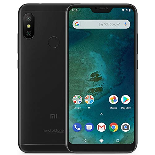 Xiaomi Mi A2 Lite 3GB RAM 32GB Dual SIM Smartphone Black - EU