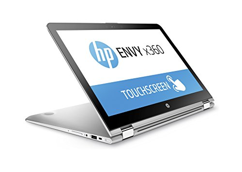 HP Envy x360 15-aq100na Convertible Laptop (15.6 inch, Full HD, Touch-Screen, Intel Core i5-7200U, 8 GB RAM, 128 GB SSD, 1 TB HDD, Windows 10) - Natural Silver