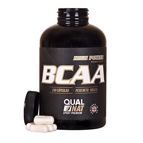 BCAA per l'allenamento e lo sviluppo muscolare - Integratore sportivo di aminoacidi a catena ramificata con vitamine B2 e B6 - Previene l'affaticamento ed aiuta a perdere peso - 240 capsule
