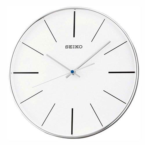 Seiko QXA634A - Orologio da parete Unisex, bianco, rund