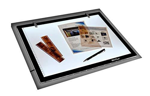 MiniSun - Scatola luminosa LED, LightPad moderno e ultra sottile - Taglia A3