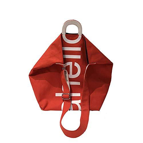 LTTGG Borse a spalla da donna Shopping bag alla moda borsa per lettere college wind grande capacità...