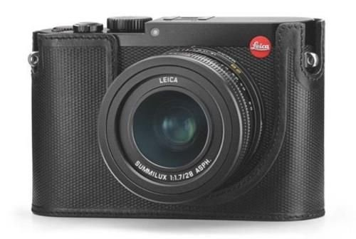 Leica Q Protector for Q Digital Camera (Leather, Black)