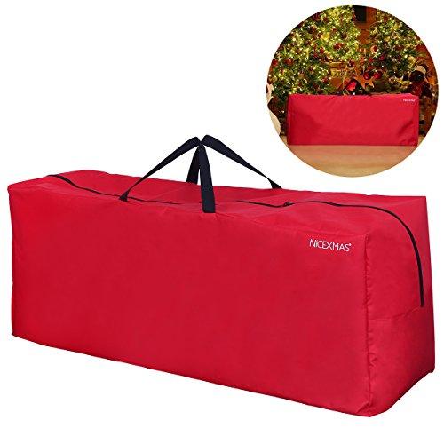 NICEXMAS, borsa/custodia per albero di Natale, Red, 135 x 38 x 54 cm