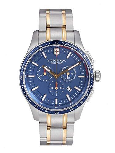 Victorinox Men Chronograph Navy Blue Analogue Watch 249138